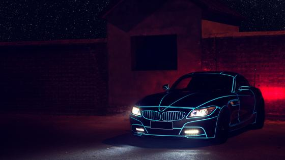 BMW lights wallpaper
