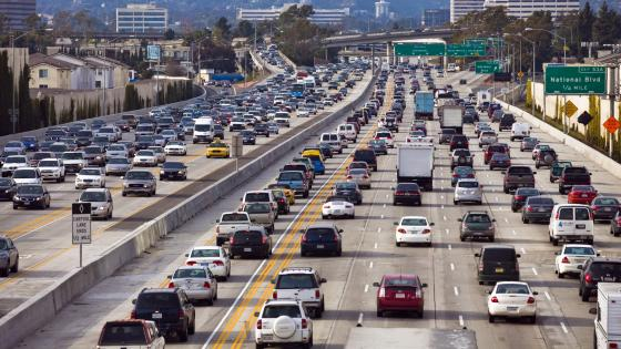 Traffic on I-405 wallpaper