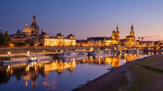 Germany, Saxony, Dresden wallpaper