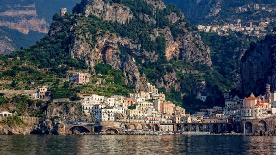 Amalfi wallpaper