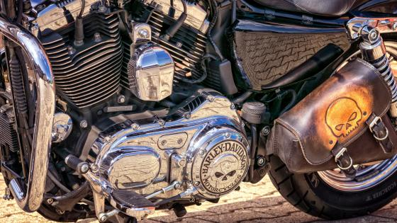 Harley Davidson Motorcycle Engine wallpaper