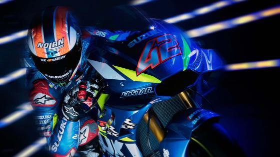 Motorcycle racer wallpaper