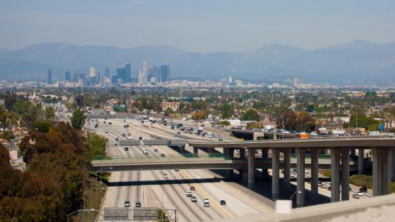 Interchange in South Los Angeles wallpaper