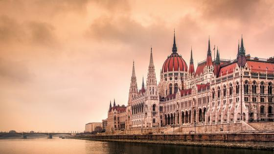 Danube bank wallpaper