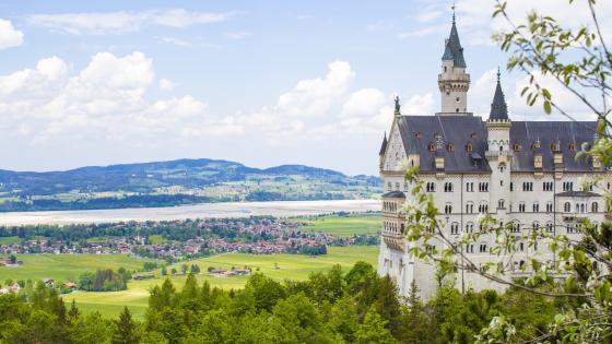 Neuschwanstein Castle, Schwangau wallpaper