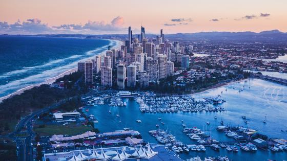 City Of Gold Coast Queensland Australia wallpaper