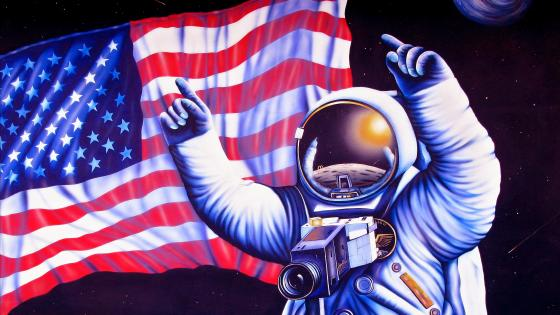 Anniversary of the moon landing wallpaper
