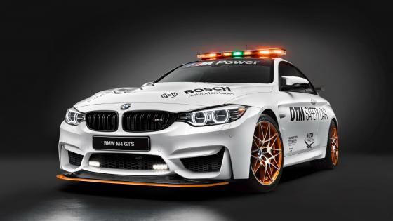 BMW M4 GTS DTM Safety Car wallpaper