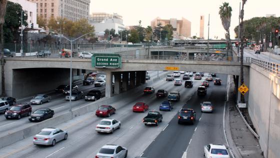 Freeway Overpasses in Los Angeles wallpaper