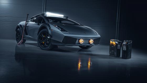 Lamborghini Gallardo Offroad wallpaper