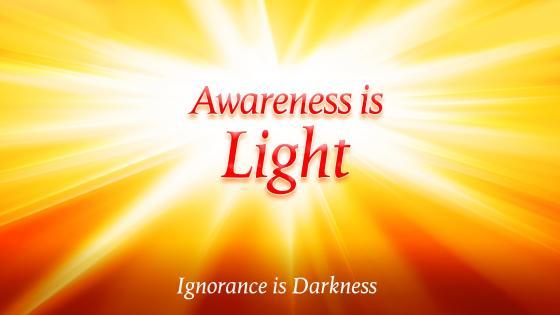 Awareness is Light wallpaper