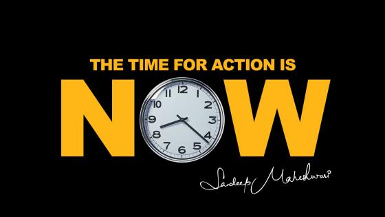 The Time For Action is Now wallpaper
