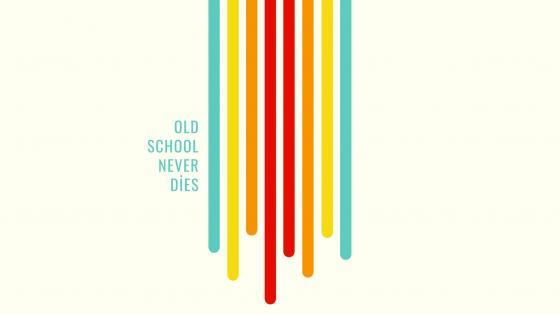 old school never dies wallpaper