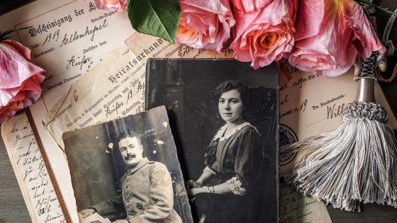 Vintage Cards And Photos wallpaper