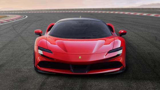 Ferrari J50 (RED COLOUR) wallpaper