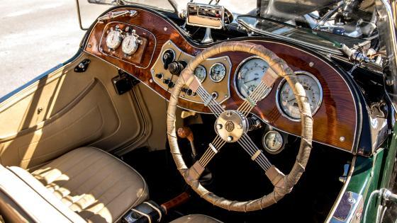 Cockpit Mg Dashboard wallpaper