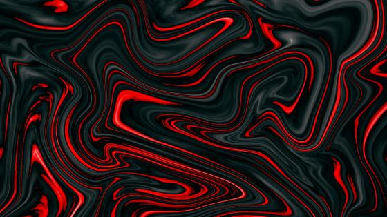 red swirls wallpaper