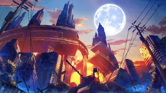 Anime fantasy art wallpaper