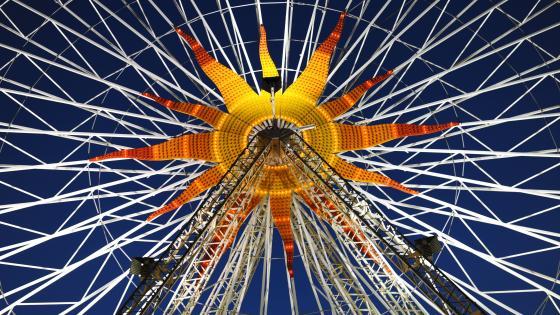 Ferris Wheel in Nice, France wallpaper