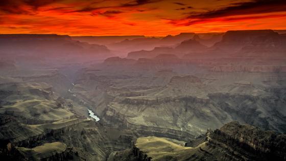 Lipan Point South Rim Grand Canyon wallpaper