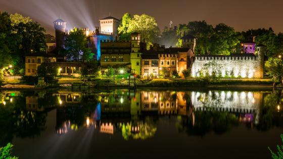 Torino by nigh wallpaper