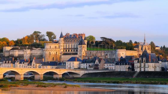 The Royal Chateau of Amboise wallpaper