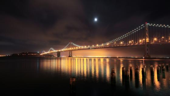 Oakland Bay Bridge wallpaper