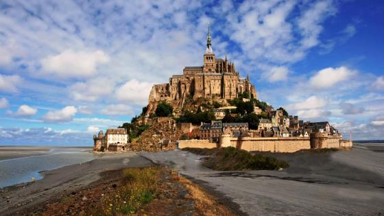 Mont Saint Michel Abbey wallpaper