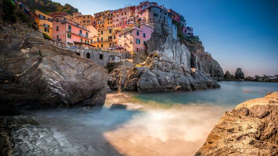 Manarola, Cinque Terre National Park wallpaper