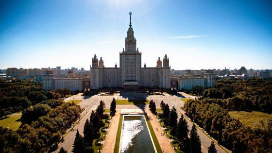 Lomonosov Moscow State University wallpaper