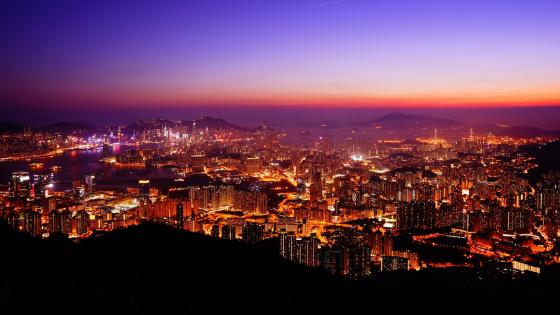 Kowloon Peak Viewing Point wallpaper
