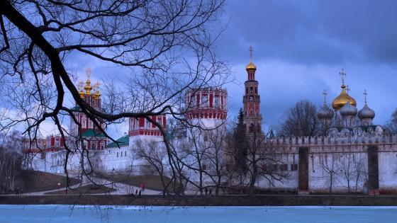 Novodevichy Convent (Bogoroditse-Smolensky Monastery) wallpaper