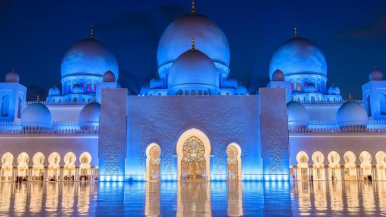Sheikh Zayed Grand Mosque wallpaper