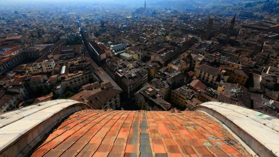 Florence from Florence Cathedral wallpaper