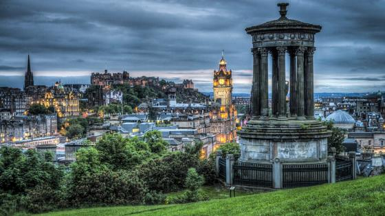 Dugald Stewart Monument wallpaper