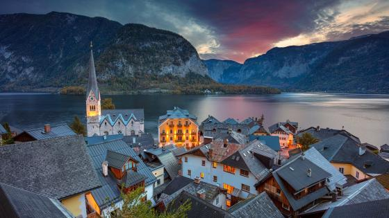 Hallstatt wallpaper
