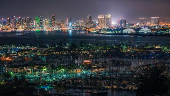 San Diego City, California wallpaper