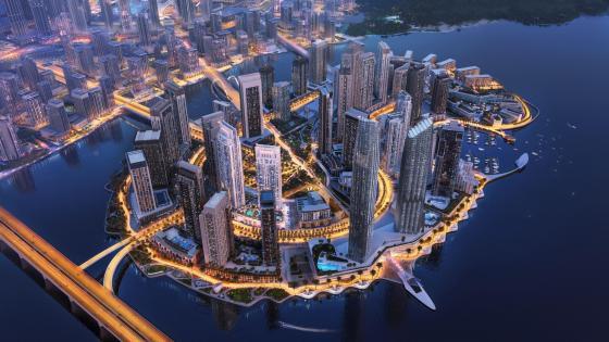 Dubai Creek Harbour wallpaper
