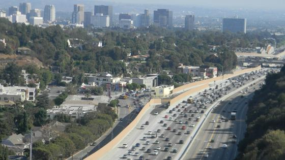 Los Angeles Afternoon Rush Hour wallpaper