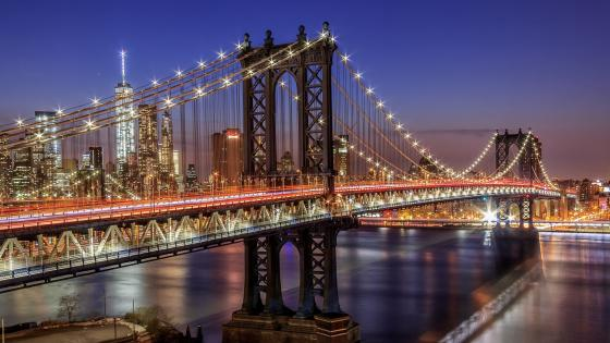 Manhattan Bridge wallpaper