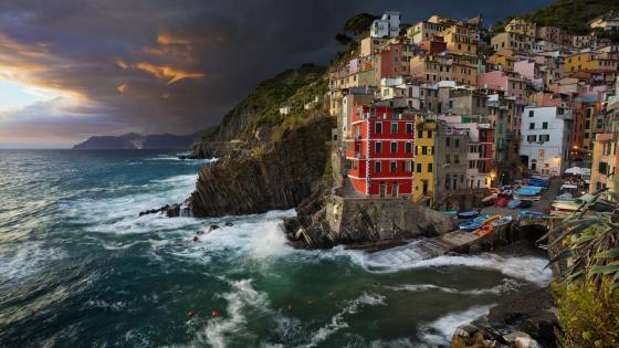 Riomaggiore, Cinque Terre wallpaper