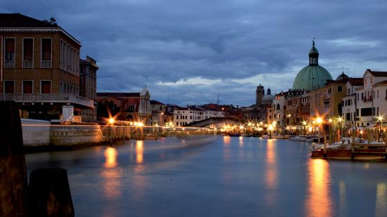 Venice evening wallpaper
