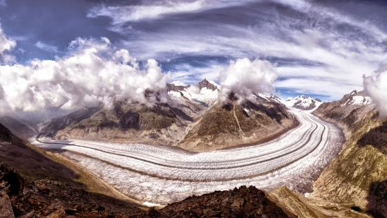 Aletsch Glacier wallpaper