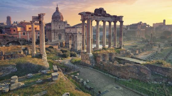 Forum Romanum wallpaper