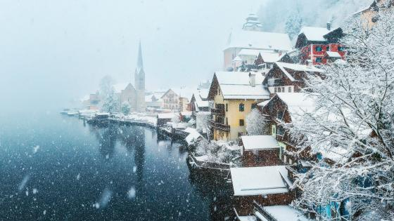 Hallstatt Austria wallpaper