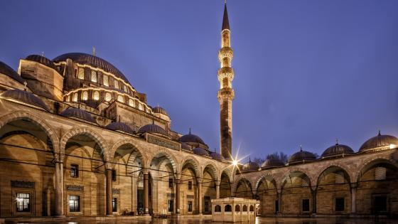 Suleymaniye Mosque wallpaper