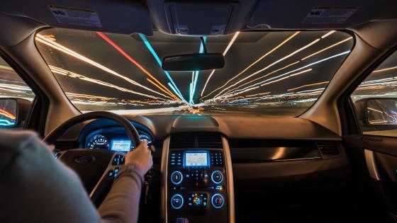 Long-Exposure While Driving wallpaper