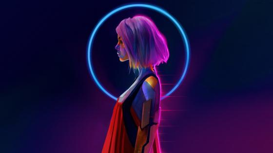 Neon Cyberpunk wallpaper
