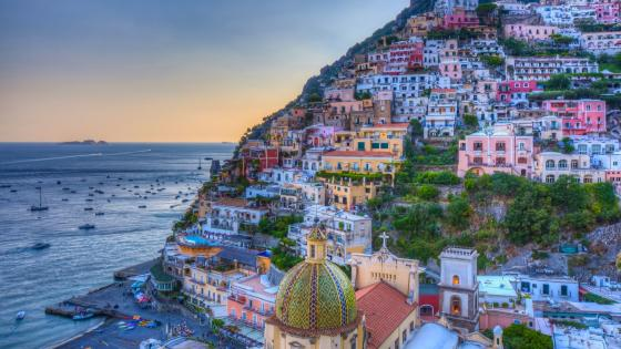 Positano, Amalfi coast wallpaper