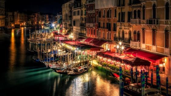 Canal Grande Venice Italy wallpaper